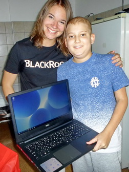 Barnabás had been wanting a laptop for a long time. Now 6bcdd8da72